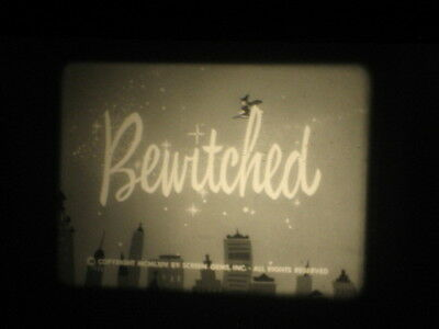 16Mm B/w Sound 1965 Bewitched Tv Show Episode  Film With Chevrolet Commercials