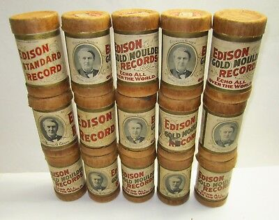 Edison Cylinder Record Lot of 15