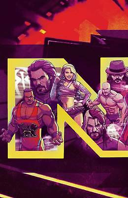 WWE NXT Takeover: The Blueprint #1 Subscriber Cover -- Boom Studios 2018