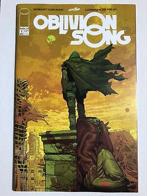 OBLIVION SONG #1 (Image Comics, 2018) Pink Signature Variant NM+/M
