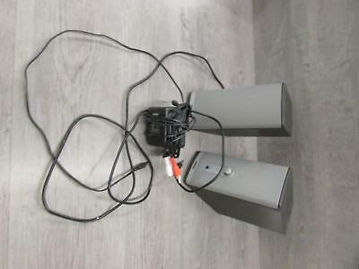 Bose Companion 2 Series II Multimedia Speaker System W/ Power Adapter Tested