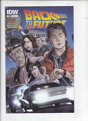 Back to the Future #1 (IDW 2015) 1st print VF/NM