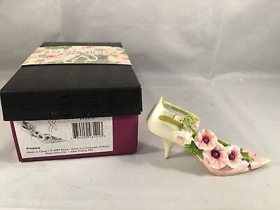 Just the Right Shoe Poppy 10th Anniversary 802818 Department 56 Raine