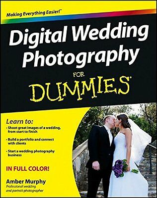 Digital Wedding Photography For Dummies Guide Book Manual -  NEW 600EX III RT