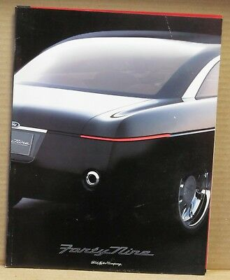 Ford Forty-Nine Concept Car Press Brochure
