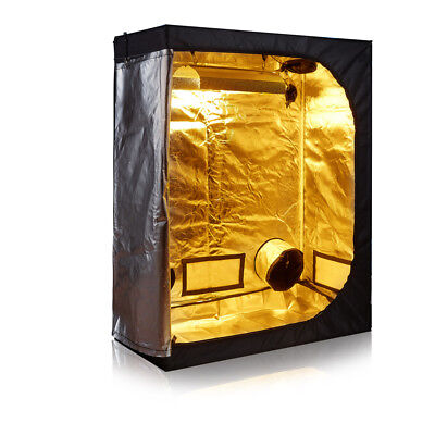 600D High Reflective Mylar 48''x24''x60'' Grow Tent for Indoor Plant Growing
