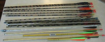 lotof ARROW shafts for parts repair EASTON Gamesetter 2117