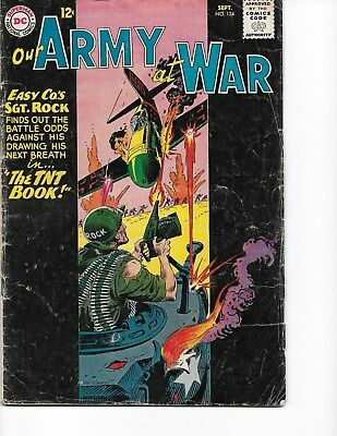 Our Army at War  #134 (Sgt Rock  GD/VG  3.0) Sept-1963, DC