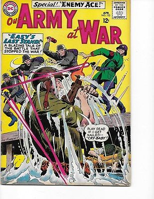 Our Army at War  #153 (Enemy Ace/2nd Appr.  FN+  6.5) Apr-1965, DC