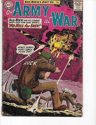 Our Army at War  #130 (Sgt Rock  GD/VG  3.0) May-1963, DC
