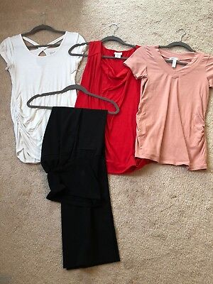 Lot of 4 Maternity Business Clothes Size S/M