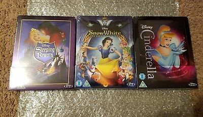 STEELBOOK Disney UK Exclusive Blu Ray SOLD OUT Sealed Limited Edition