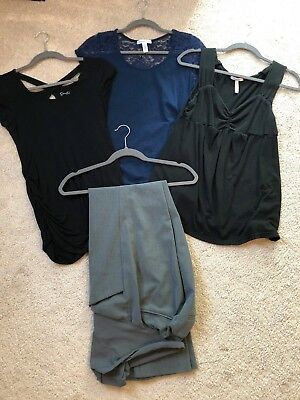 Lot of 4 Business Maternity Clothes Size S