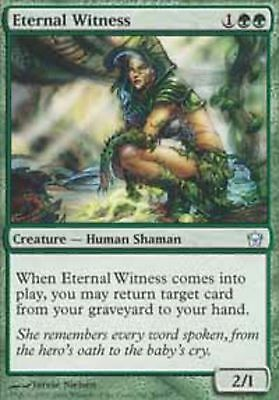Eternal Witness PL Fifth Dawn MTG Magic The Gathering Green English Card