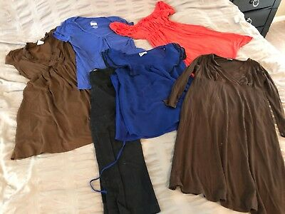 Lot of 6 Maternity Items Size M