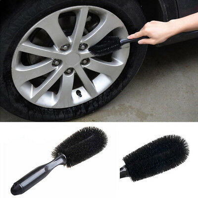 Wheel Tire Rim Scrub Brush Car Truck Motorcycle Bike Wash Washing Cleaning Tool