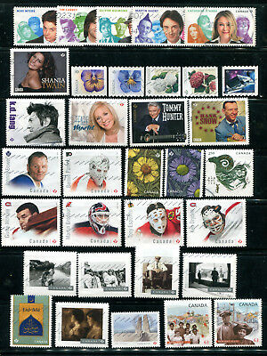 Canada recent used collection hockey comedians singers etc. ++  LOT C3