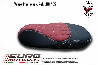 Vespa Primavera 2014-2018 JN-Europe Seat Cover Anti-Slip Diamond Quilt JNQ435