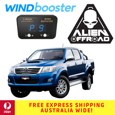 Windbooster Stealth 5-Mode Throttle Controller to suit Toyota Hilux 2005-2015