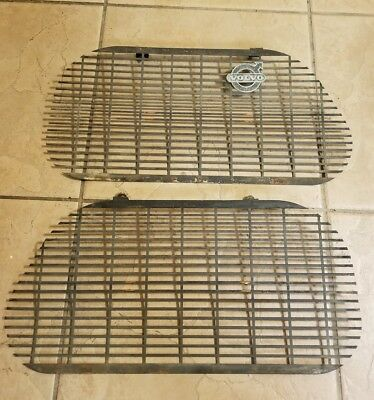 Volvo 122 Early Production Grille Inserts