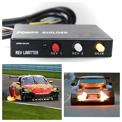 Racing REV Limiter | 2-Step Control Module | Fire-Breathing Exhaust | with Logo