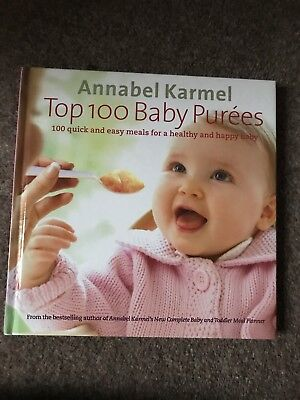 Annabel Karmel Top 100 Baby Purees Book