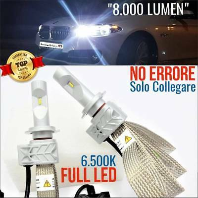 Set Low beam LED H7 Bmw SERIE 5 f10 f11 Lamps CANBUS 6500K touring msport