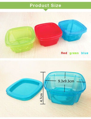 Mini Storage Boxes Plastic Baby Weaning Feeding Freezer Food Pots Containers USA