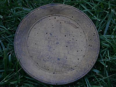 Vintage Antique Wooden Plate