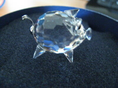 Swarovski Small Pig with Wire Tail - retired 2006