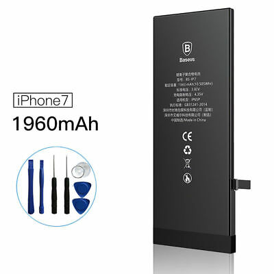 Baseus 1960 mAh Replacement Internal Li-Ion Battery For iPhone 7 Only +Tools