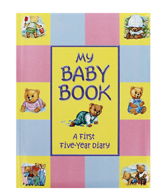 My Baby Book - A First Five Year Diary Record Baby's Milestones Keepsake Gift