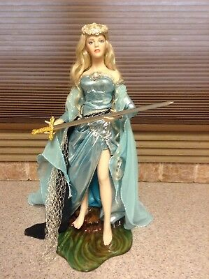 Franklin Mint LADY OF THE LAKE Porcelain Collector Doll