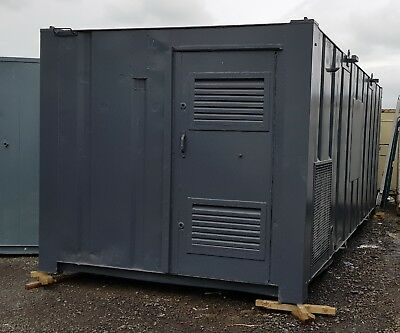 20ft Site Welfare Unit 10kva Generator Evo Groundhog Portable Cabin Office
