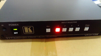 Kramer VP-411DS  4x1 Computer Graphics Video & Stereo Audio Standby Switcher