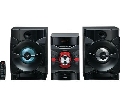 Jvc Mx-D328B Bluetooth Megasound Hi-Fi Party Stereo System 250W Usb Cd Player