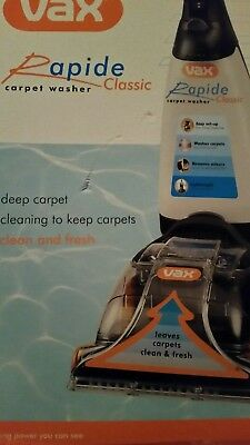 Brand New Vax Rapid carpet washer