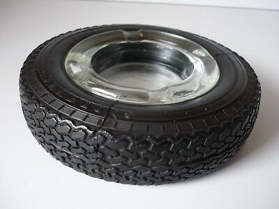 Vintage Goodyear G800 Tyres Rubber Tyre Ashtray In Fabulous Original Condition