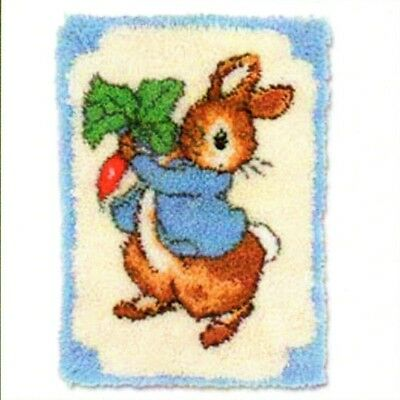 Latch hook pattern only peter rabbit beatrix potter collection