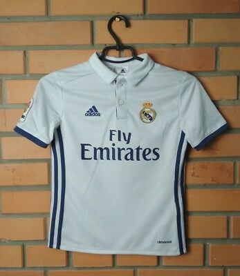 1349af2da REAL MADRID HOME football shirt  7 2017 2018 kids 9-10 y. jersey ...