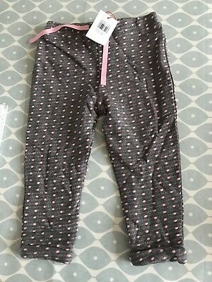 John Lewis Baby Girl Trousers BNWT 12-18 Months