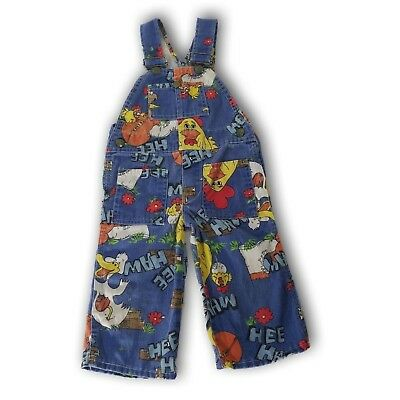 Hee Haw Liberty Overalls Kids Size Country Kids Size 2? See measurement Chicken