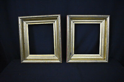 Pair of Antique Gold Leaf Picture Frames