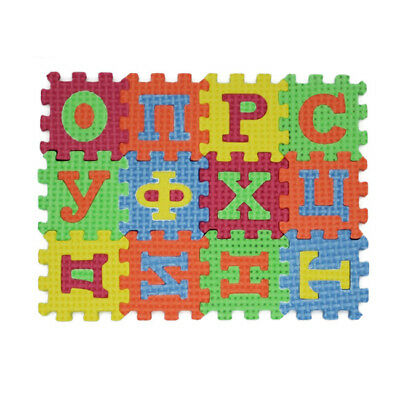 Soft Baby Floor Play DIY Puzzle Mat Foam Alphabet Numbers Puzzle Playmat  6A