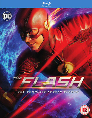 The Flash: The Complete Fourth Season DVD (2018) Grant Gustin ***NEW***