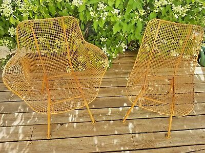 Lot of Two Vintage Patio Chairs - Woodard Sculptura - Super Cute, family-owned