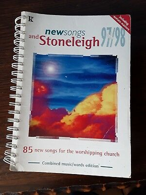 New Songs Stoneleigh 97/98 Worship Church Songs Sheet Music Song Book