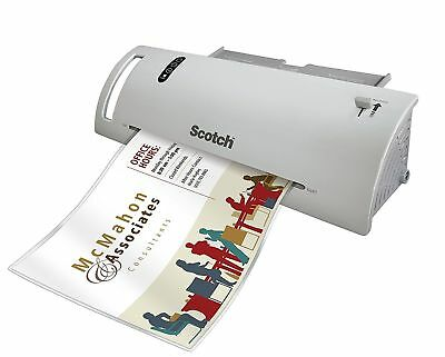 Scotch Thermal Laminator Combo Pack, Includes 20 Letter-Size Laminating Pouches