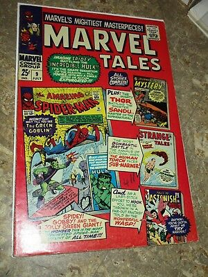 Marvel Tales #9 Silver Age Spider-man 1st Green Goblin Story Thor Wasp Loki