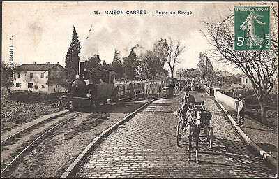 MAISON-CARREE (Algérie) - Le Train Route de Rovigo
